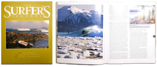 Scott Dickerson Alaska surf photo in The Surfer's Journal