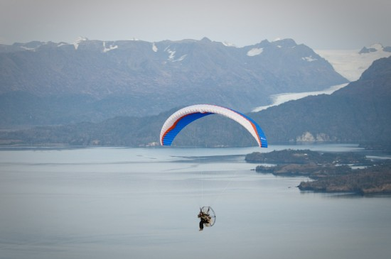 Scott Dickerson - Aerial photography from a powered paraglider
