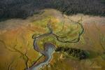 Aerial of Kachemak Bay State Park, Alaska, Scott Dickerson Photography