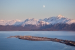 Aerial of the Homer Spit, Alaksa, Scott Dickerson Photography