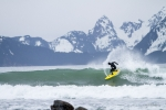 Trevor Gordon Surfing Alaska, Scott Dickerson Photography