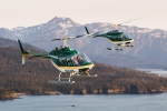 Air-to-Air Aerial of helicopters, Alaska, Scott Dickerson Photography