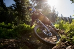 Downhill Mountain Biking at Alyeska Resort, Girdwood, Alaska, Scott Dickerson Photography