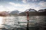 SUP Kenai Fjords Alaska, Scott Dickerson Photography