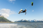 kite surfing Alaska, Scott Dickerson Photography