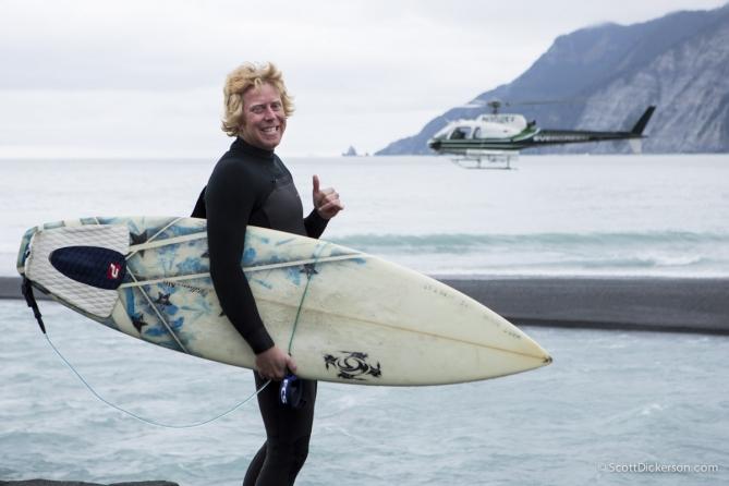 heli-surfing alaska