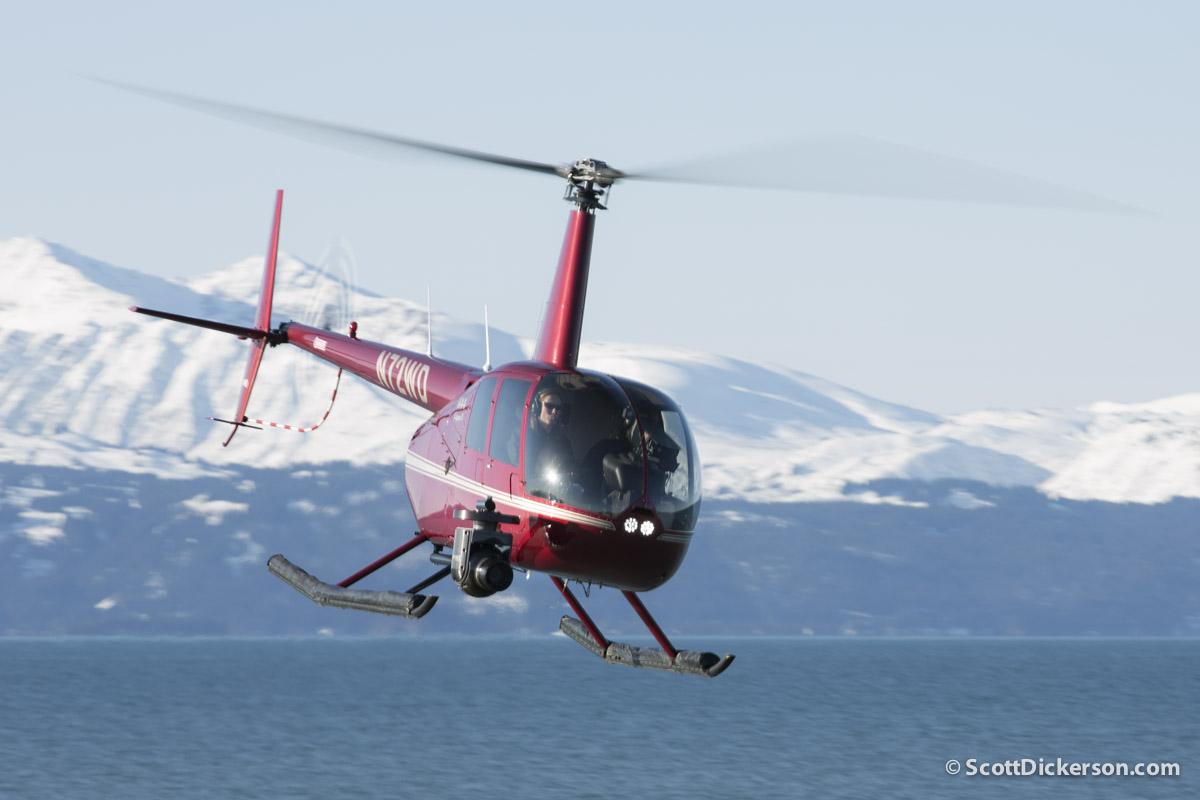 ZatzWorks Cineflex with nose mount on R44