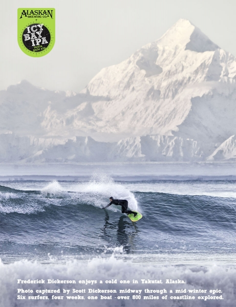 Surfing Yakutat, Alaska