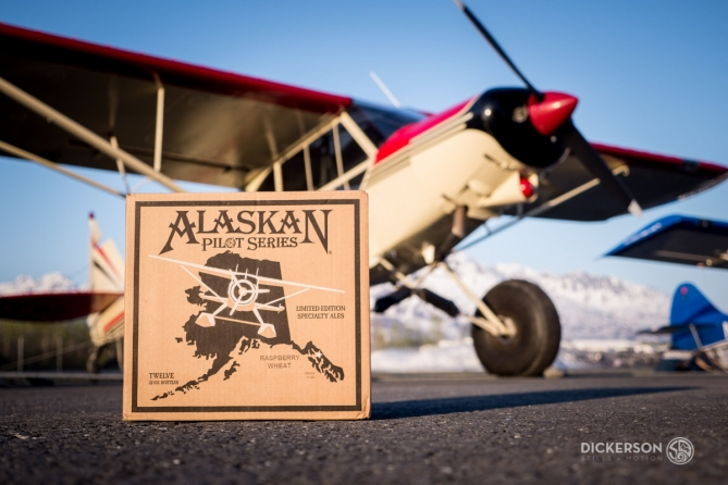 Alaskan Brewing and Scott Dickerson photography