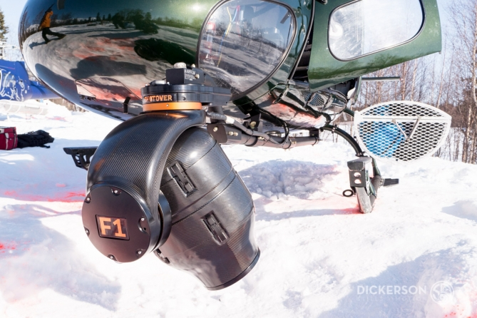 ShotOver F1 aerial filming helicopter Astar as350 Alaska